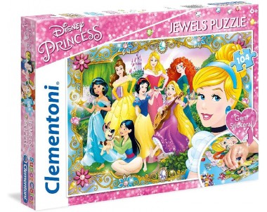 PUZZLE 104 JEWELS PRINCESS
