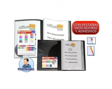 CARPETA O. BOX 80 FUNDAS PERSONALIZABLE