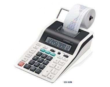 CALCULADORA CITIZEN CX-32N IMPRESORA 12
