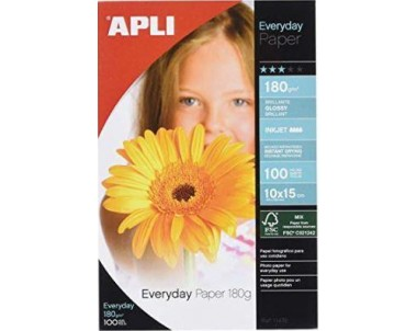 PAPEL EVERY 10x15 180 GR....