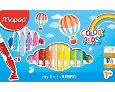 ROTULADOR COLOR PEPS JUMBO...